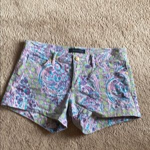 Juicy Paisley Jean shorts